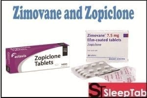zopiclone and Zimovane
