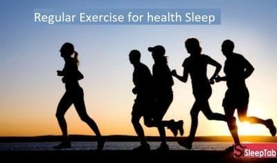 Regular exercise for health sleep