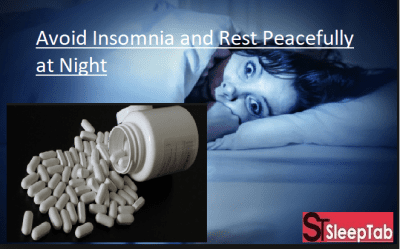 Avoid Insomnia and Rest Peacefully at Night